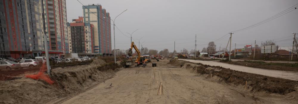 Улицу Петухова в Новосибирске