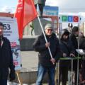 Евгений Коптев на акции Родительского всероссийского сопротивления в Новосибирске в 2016 году