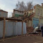 В Томске снесли историческое здание