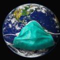 планета земля в мед маске