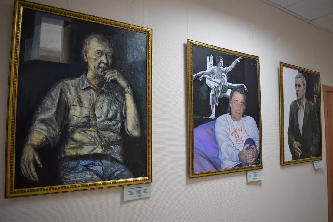 Портреты великих Новосибирцев