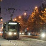 В новосибирском депо сгорел трамвай №13
