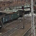 В Новосибирской области произошел сход с рельс более 30 вагонов