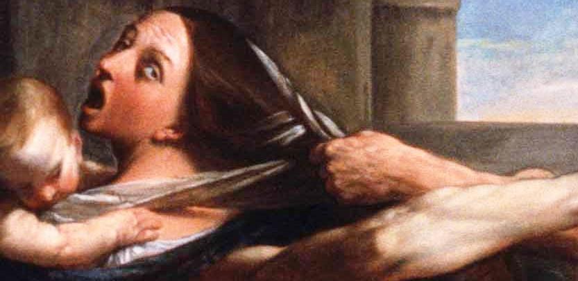 Фрагмент картины итальянского художника Гвидо Рени «Избиение младенцев», 1612 год