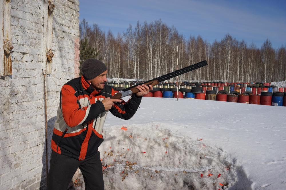 -Новость Одно из любимых увлечений главы семейства — стрельба по «летающим тарелкам» сибирский информационный портал 25 Ноябрь