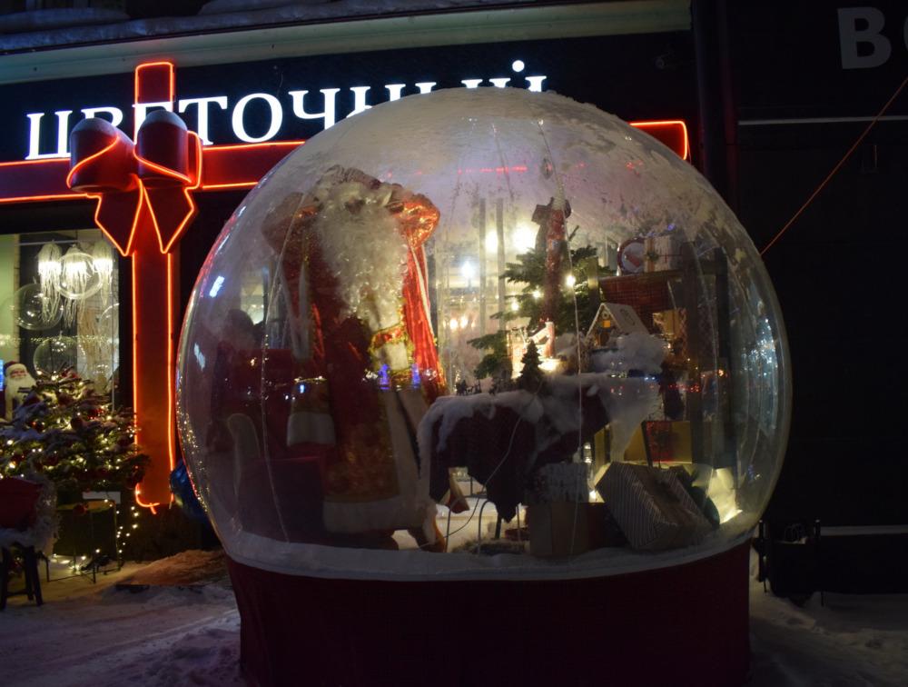 Новый год в Новосибирске
