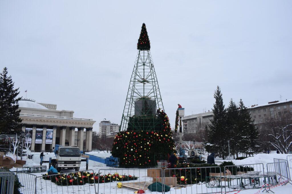 Главная елка Новосибирск