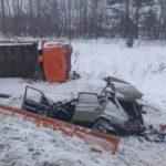 Двое взрослых и ребёнок погибли в ДТП в Новосибирской области