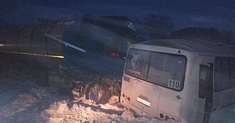 автобус авария новосибирск