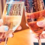 тост бокалы с шампанским