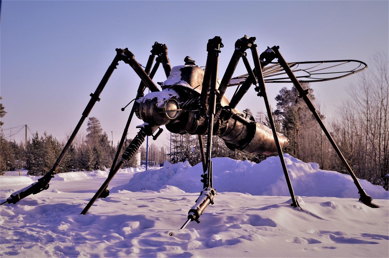 Памятник Комару-хранителю Сибири