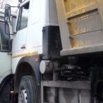 На Алтае автобус с пассажирам не уступил дорогу Камазу