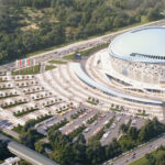 Дополнительные средства из резервного фонда Правительства РФ позволят довести в 2021 году готовность ледовой арены в Новосибирске до 75 процентов