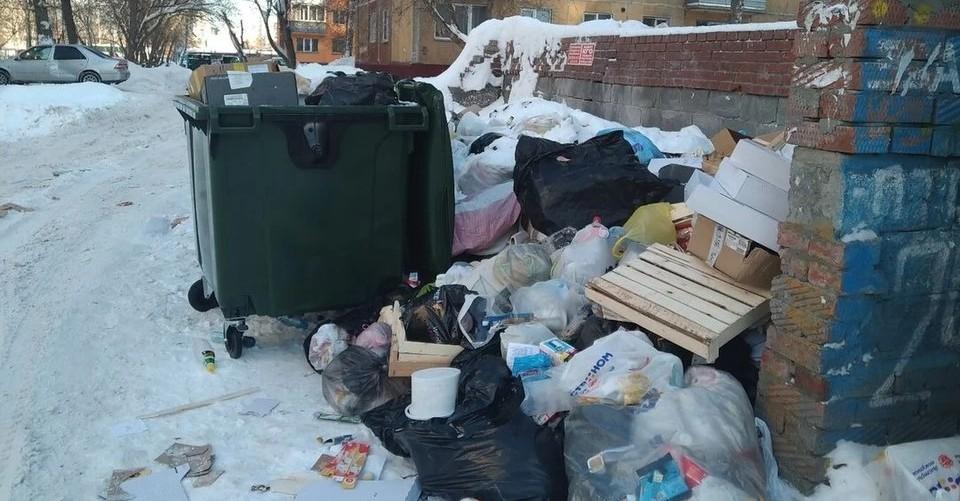 мусор в новосибирске
