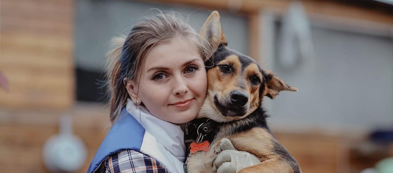 -Новость девушка с собакой сибирский информационный портал 30 Декабрь