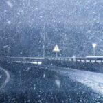 дорога, снег, дтп