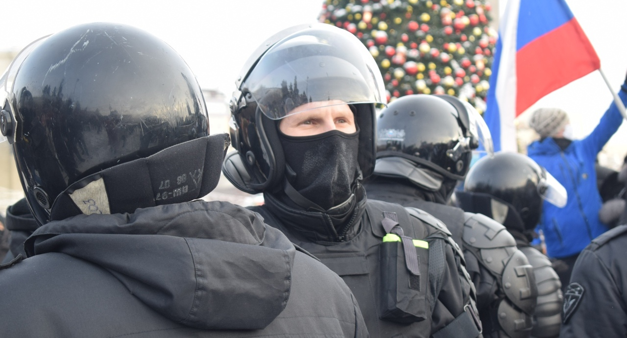 Протест в Новосибирске 31 января 11