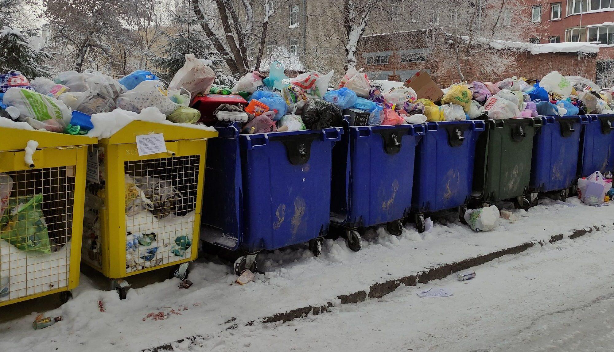 не вывозят мусор