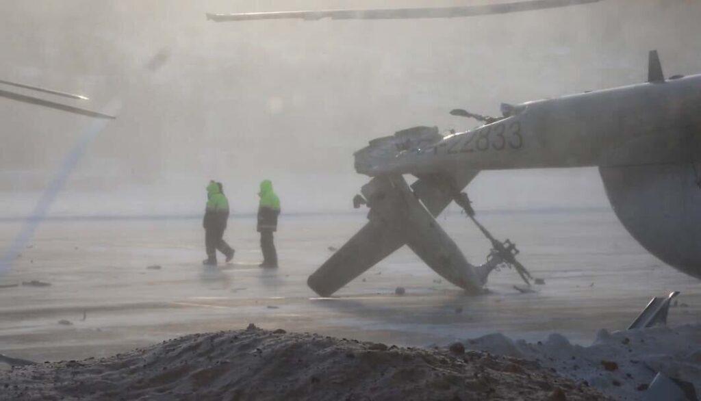 авария, Ми-8