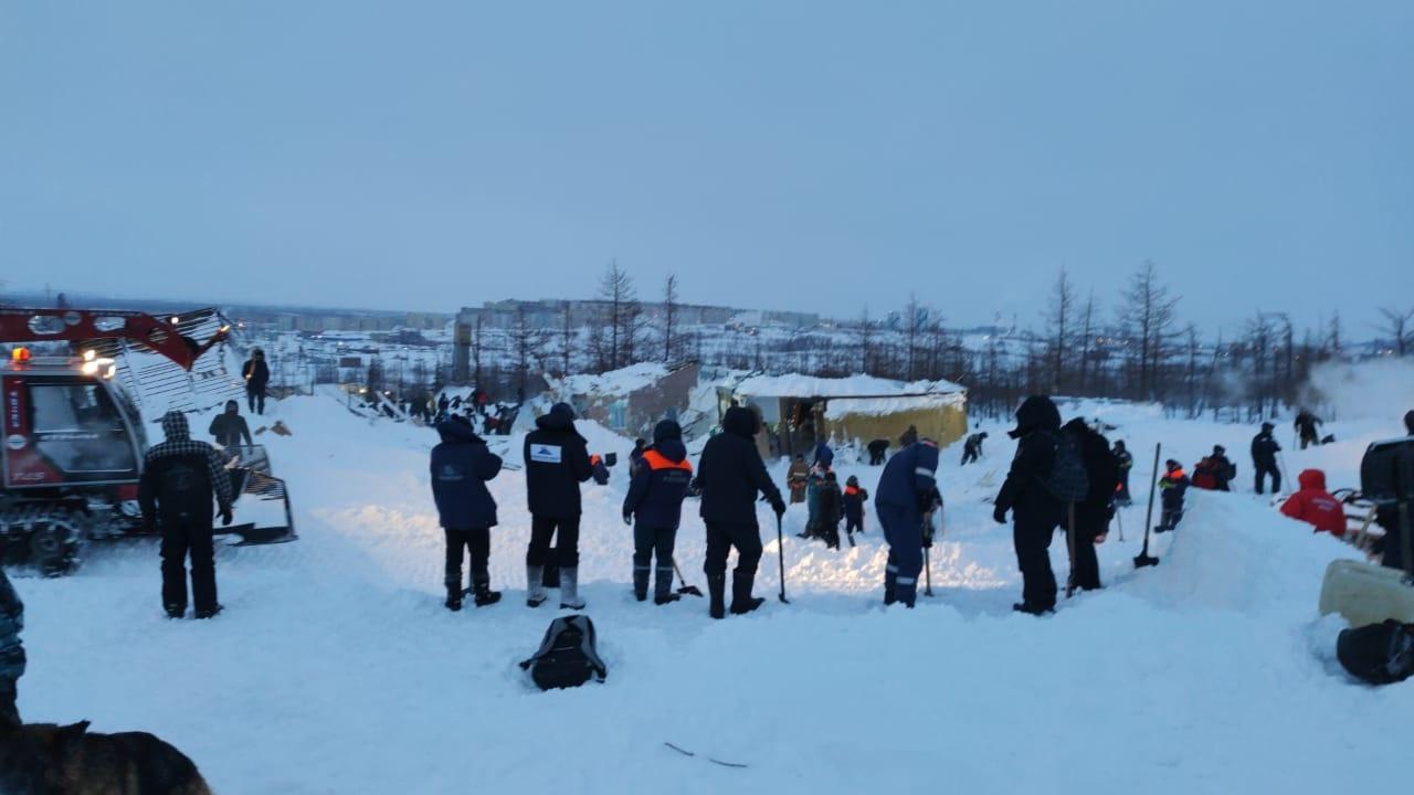 Трагедия в Норильске. Фото: МЧС