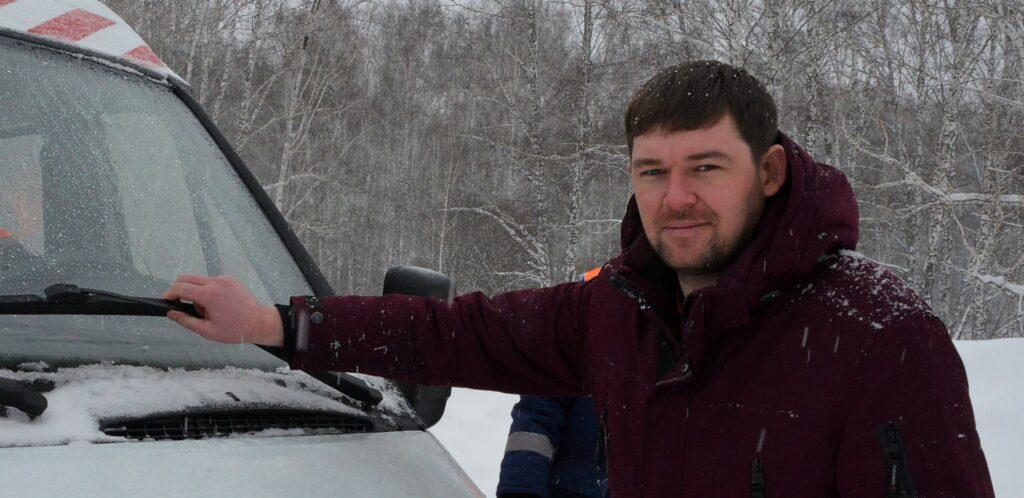 Сергей Хамандритов - Сергей Хамандритов - директор Тогучинского ДРСУ