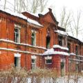 Военный городок 17 зимой