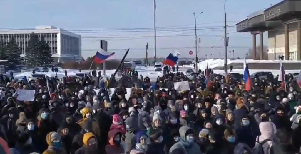 акция в Томске