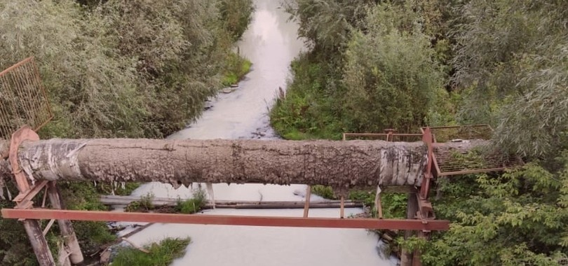 грязная река Тула