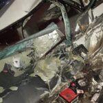 Два человека серьёзно травмированы в ДТП с грузовиком