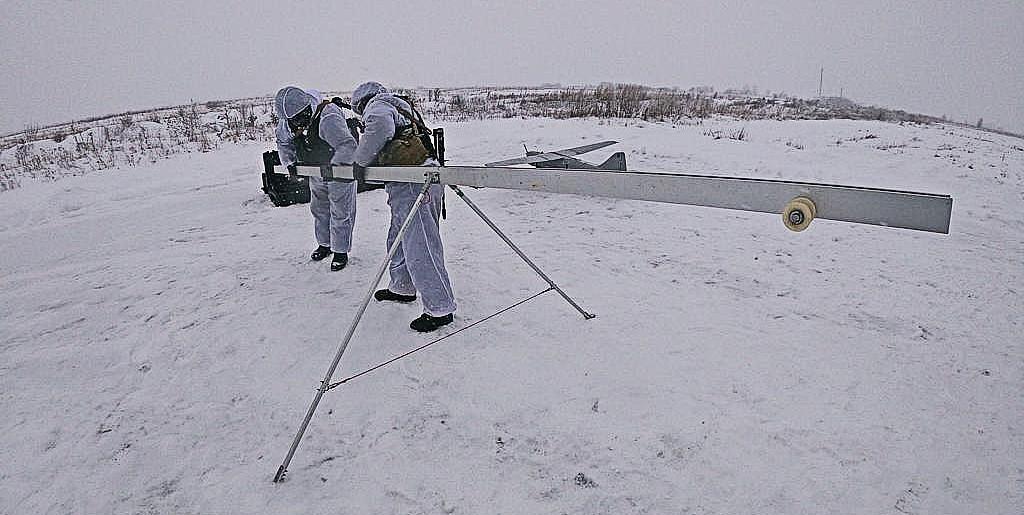 -Новость запуск беспилотника зимой сибирский информационный портал 04 Январь