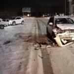 В Новосибирске в аварии пострадал ребёнок
