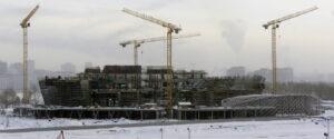 Строящийся ЛДС в Новосибирске