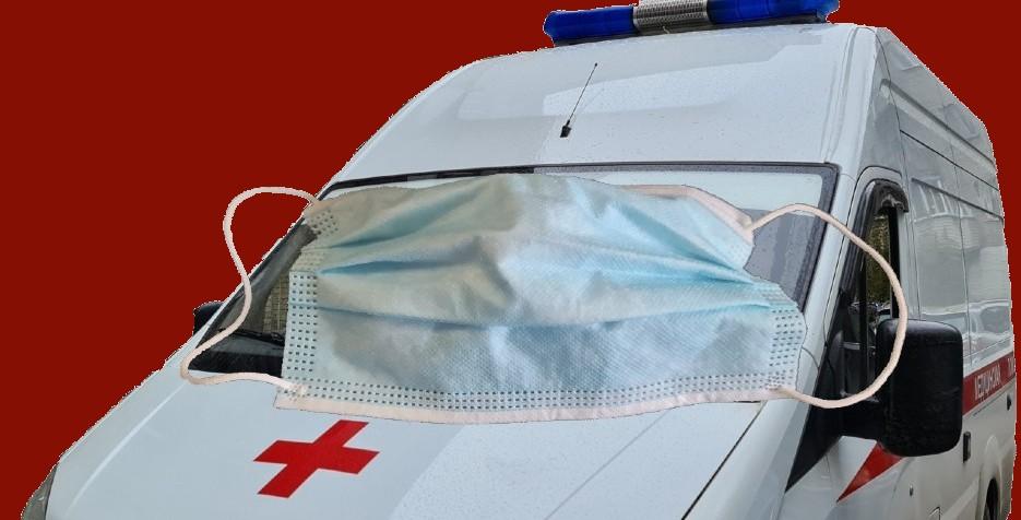 Защитная маска скорая помощь