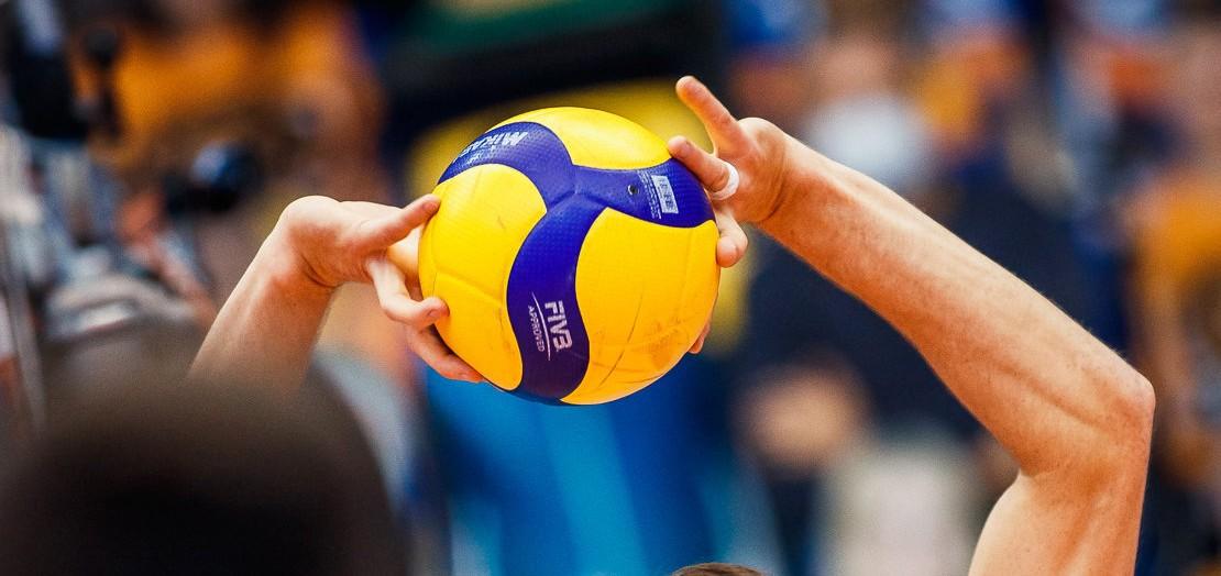 Приём волейбольного мяча