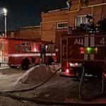 Четыре человека сгорели в гаражном комплексе в Новосибирске