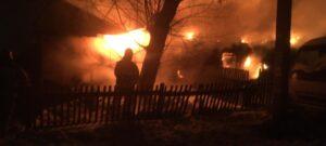 пожар в Новосибирском районе