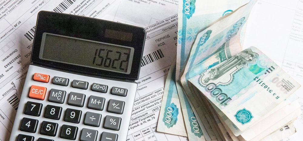 калькулятор и рубли