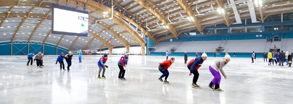 Ледовый дворец Кузбасс