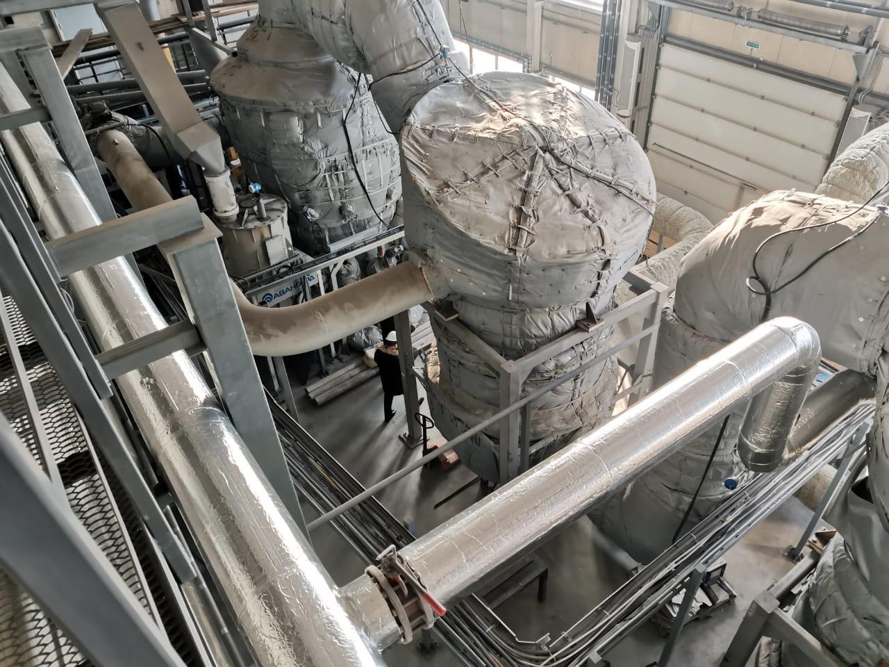 Оборудование для термического сжигания