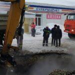 В Кировском районе Новосибирска продолжают ремонтировать теплосеть