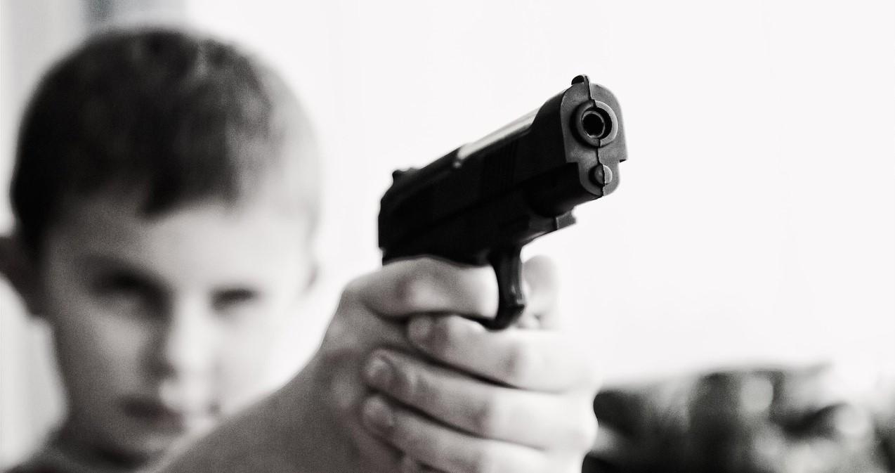 -Новость ребенок, пистолет сибирский информационный портал 16 Февраль