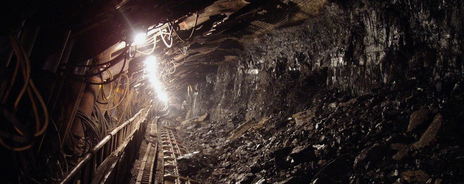 уголь, шахта