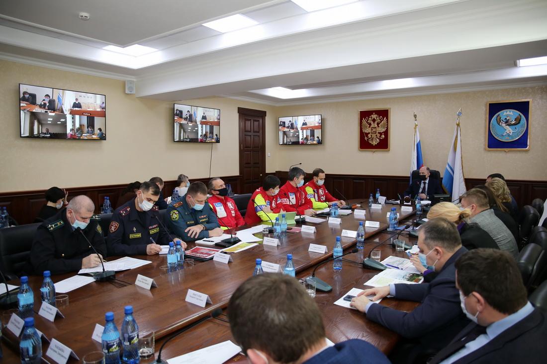 Заседание комитета по вопросам подготовки и проведения этапа Международного ралли «Шелковый путь»