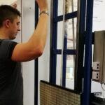 Ученые Томского госуниверситета разрабатывают решетку для сканирования пассажиров в аэропорту.