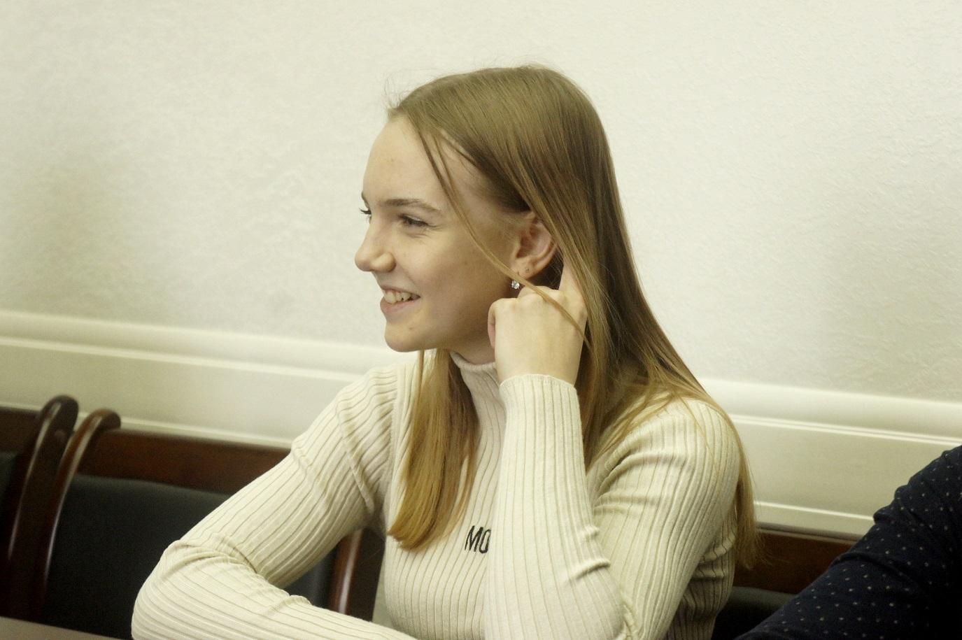 Боксерша из Коченево Анна Костина