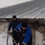 сход снега на Алтае