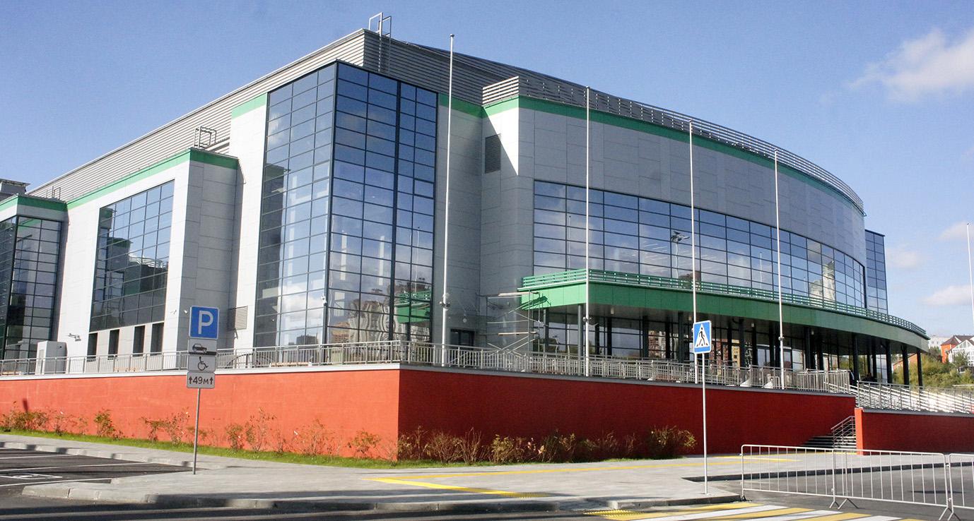 Центра волейбола «Локомотив-Арена» в Новосибирске
