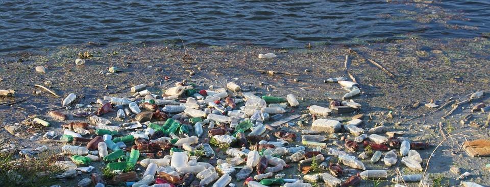 мусор у реки