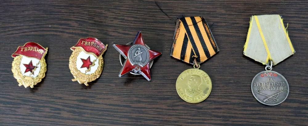 орден и медали, изъятые в Толмачёво
