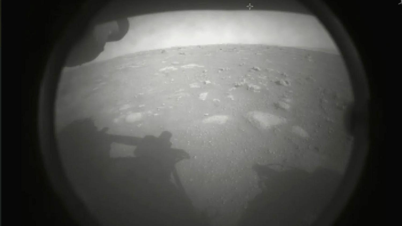 снимок поверхности Марса